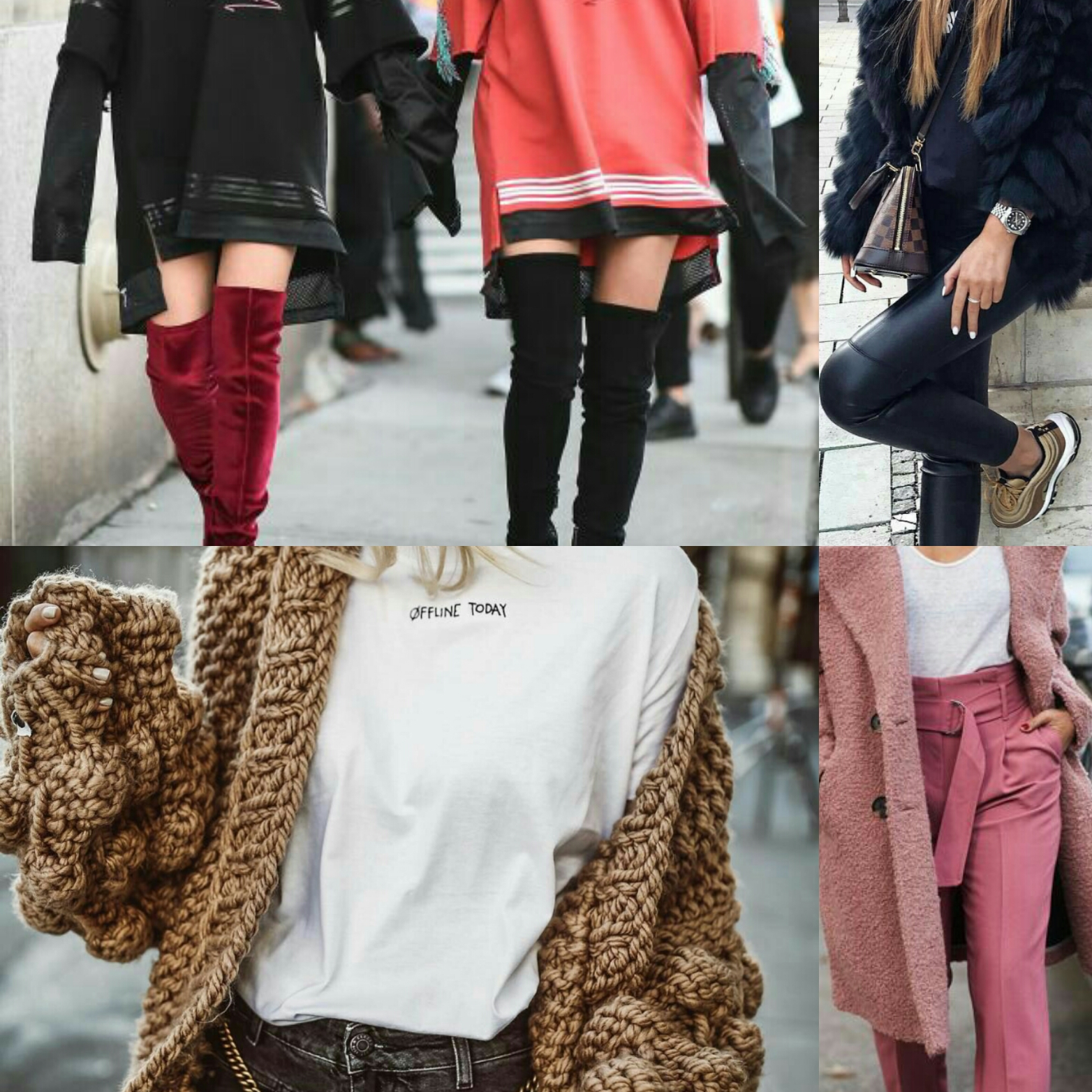 Outfit 2018 inverno sc74 regardsdefemmes for Outfit ufficio 2018