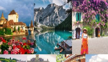 laghi in italia e in europa