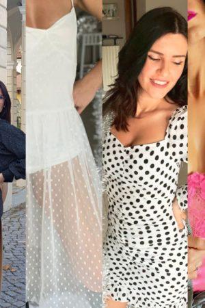 femme luxe look da giorno e da sera