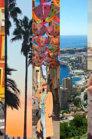 costa azzurra: itinerari e curiosità. viaggio