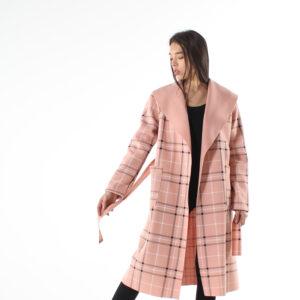 cappotto a quadri primavera 2021