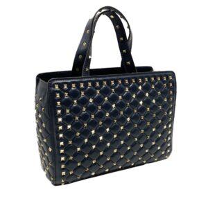 Tote bag con borchie Valentino