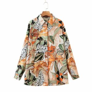Tropical blouse.