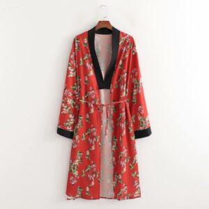 Giacca Kimono a fiori