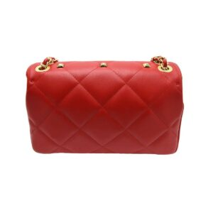 spring summer bag with rounded studs 2021