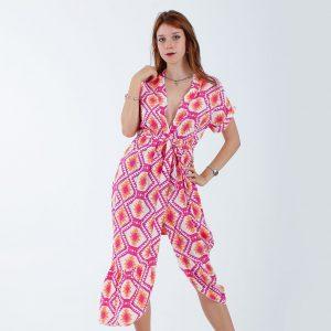 Colorful chemiser dress
