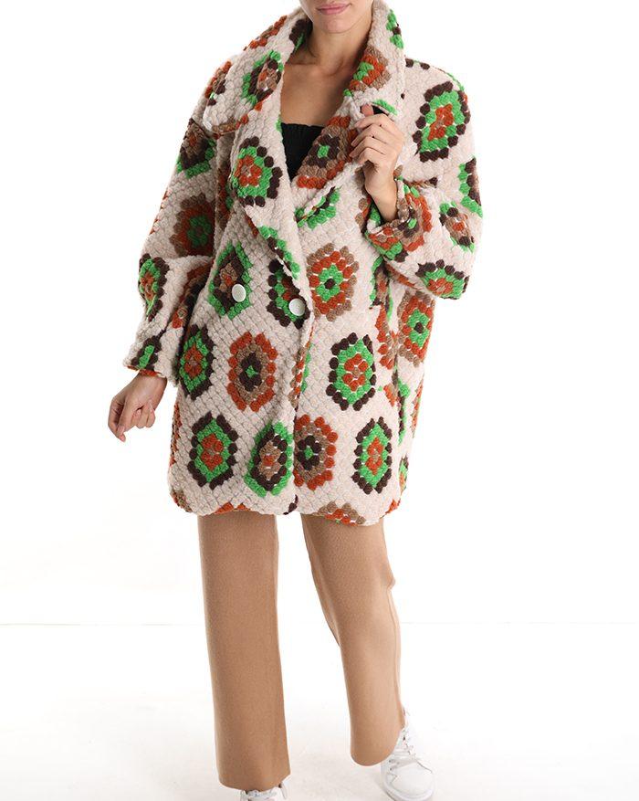 cappotto crochet