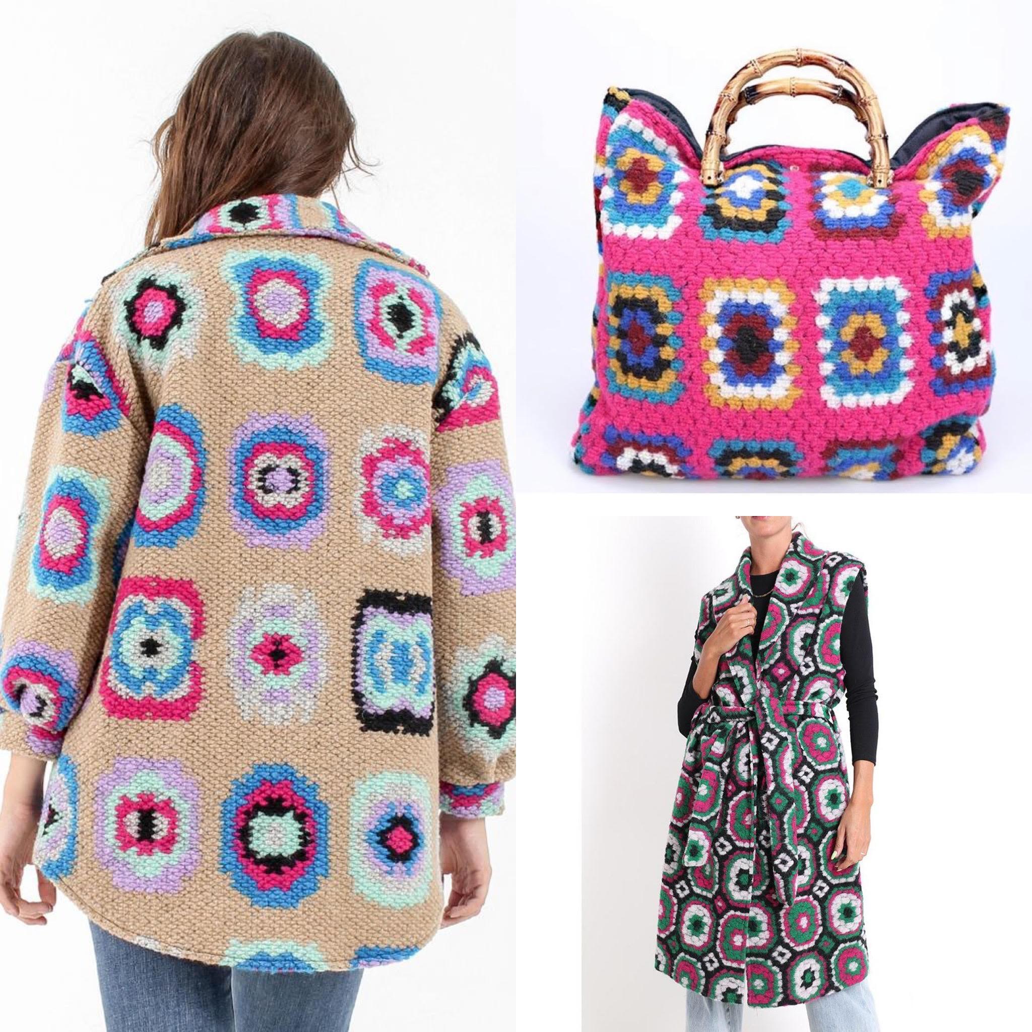La Stampa Uncinetto crochet è tendenza moda autunno inverno 2021/2022